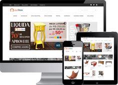 Desenvolvimento de loja virtual #Magento com layout responsivo para a empresa Uppstore, que é uma loja que trabalha com venda de #móveis e produtos para #decoração.  #LojaVirtualMagento #ProgramadorMagento #DesenvolvedorMagento