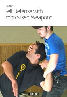 Self Defense with Improvised Weapons!  Mada Krav Maga in Shelby Township, MI teaches realistic hand to hand combat that uses the quickest methods to attack the weakest and most vital targets of both armed and unarmed assailants! Visit our website www.madakravmaga.com or call (586) 745-1171 for more details!