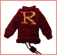 Free Knitting Pattern - Phone, Tablet & Laptop Covers: Weasley Cell Cozy