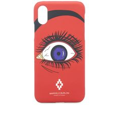 Marcelo Burlon Red Eye Iphone X Case Red   END. Red Eyes, How To Know, Milan, Iphone Cases, Mens Fashion, Lifestyle, Mobile Cases, Bloodshot Eyes, Moda Masculina