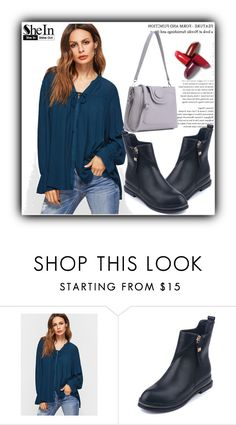 """""""4/18 shein"""" by fatimka-becirovic ❤ liked on Polyvore"""