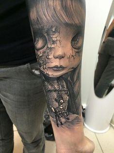 Tatouage réaliste par Sandry Au delà du réel