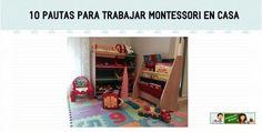 10 pautas para trabajar montessori en casa