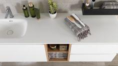Basándose en sus diseños de líneas rectas y sus composiciones minimalistas, la firma Gamadecor presenta nuevos lavabos y módulos Next para el mobiliario de baño