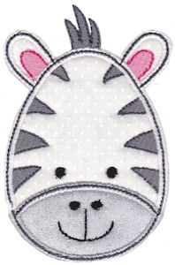 Bunnycup Embroidery | Free Machine Embroidery Designs | Cute Animal Faces Applique