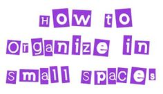 HOW OUR FAMILY HAS ORGANIZED IN OUR SMALL SPACE (1)