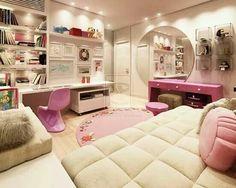 Preteen girls room design