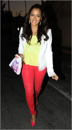 LaLa Anthony- want these pants!