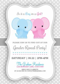 Explore gender reveal invitations at Zazzle! Boy or girl? Pick your favorite Gender Reveal party invitations from our amazing selection of designs today! Baby Shower Gender Reveal, Baby Shower Themes, Gender Reveal Party Invitations, Gender Party, 25th Wedding Anniversary, Girl Themes, 1st Birthdays, Planner, Reveal Parties