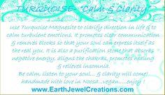 Inspirational white howlite gemstone jewellery with harmony energy.