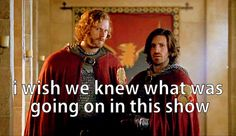 Those poor knights never had any idea what was ACTUALLY going on. #Merlin