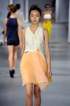 The Prettiest Dresses From Fashion Week #refinery29  http://www.refinery29.com/2014/10/75461/best-dresses-fashion-week-2014#slide20  A completely ahead-of-the-curve approach to mini dresses from 3.1 Phillip Lim.