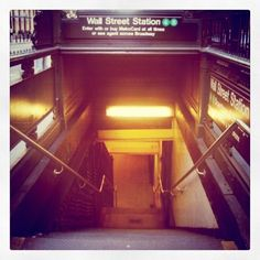 New York, New York. Mind The Gap, Nyc Subway, Wall Street, Buses, Places Ive Been, New York City, Travel, Viajes, New York