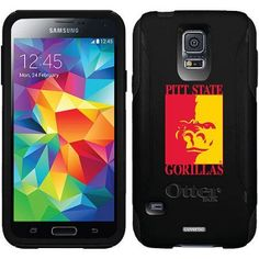 Pittsburg State Primary Mark Design on OtterBox Commuter Series Case for Samsung Galaxy S5