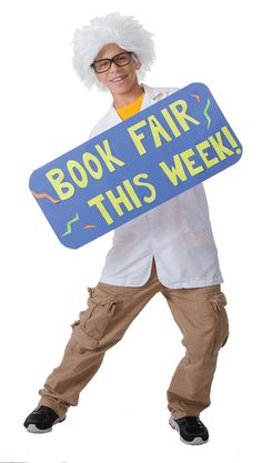 How much would your business improve if you had someone in costume greeting students as they entered the school every morning? Add some excitement every day!    Check out your Book Fair Chairperson Toolkit for more tips and tricks.