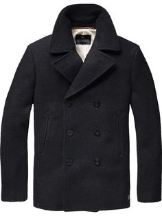 Scotch & Soda's Basic Caban Coat