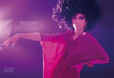 Tilda Swinton, looking like Sophia Loren at the height of her beauty. Who would have guessed?
