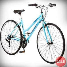 ROADMASTER HYBRID BIKE BLUE WOMEN'S CRUISER COMMUTER SPORT ROAD WOMAN BICYCLE in Sporting Goods, Cycling, Bicycles | eBay