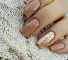 Nice neutral nails More