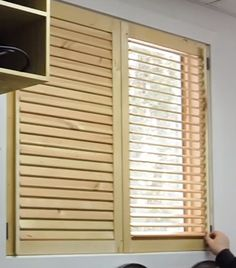Diy shutters build your own plantation shutters inside revamp diy making wooden blinds httphomediyfixesdiy solutioingenieria Image collections