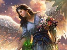 Most Beautiful Fairies - Bing images Sf Wallpaper, Fairy Wallpaper, Angel Artwork, Guardian Angels, Fallen Angels, Hd Backgrounds, Wallpapers, Beautiful Fairies, New Art