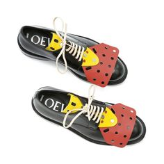 "LOEWE ""Mecano"" shoes."