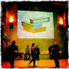 SXSW entrance March 2012