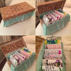 Open When Letters For Long Distance Friendship Diy Gifts Friends