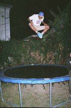 GOLF WANG Tyler, the Creator jumpin on a trampoline