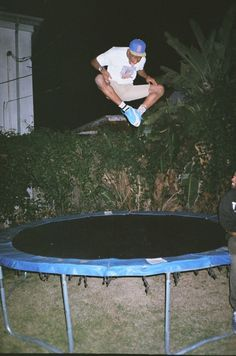 GOLF WANG Tyler, the Creator jumpin on a trampoline