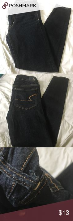 American Eagle Jegging 6 short   Still being sold in stores   minor flaw by belt loop and a little snag in 4th picture   American Eagle Outfitters Jeans