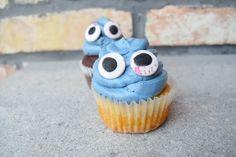 Halloween cupcake – Isteni finomság selymes, svájci habcsók vajkrémmel