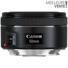 Objectif Objectif pour Reflex CANON EF 50mm f/1.8 STM chez Boulanger