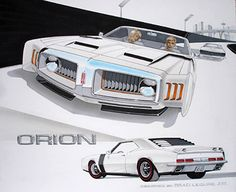 Oldsmobile Orion Concept Car – Brad Leisure Design via bradleisure.com