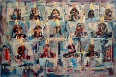 The Catacombs, oil on canvas, 100 x 150 cm. 2007 Wellington New Zealand, Roberto Paulet Wellington New Zealand, The Catacombs, New Zealand Art, Painting & Drawing, Oil On Canvas, Saatchi Art, The 100, Original Paintings, Artists