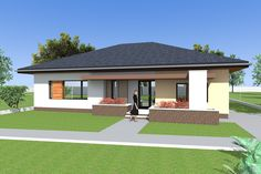 Bungalow House Plans P02 142 Square Meters 1528 Square Feet Endearing Three Bedroom Bungalow Design Decorating Inspiration