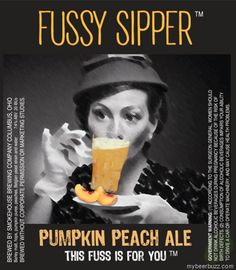 mybeerbuzz.com - Bringing Good Beers & Good People Together...: Smokehouse Brewing Releasing Fussy Sipper Pumpkin ...