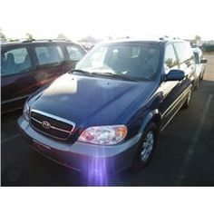 2005 Kia Sedona - Speeds Auto AuctionsCategory: Van Make: Kia Model: Sedona Color: Year: 2005 VIN#: KNDUP132956691310 License Plate:  Title: Will Update Monday Night Mileage: 0 Condition: Runs and Drives