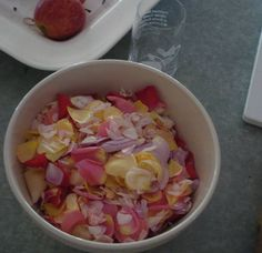 rose petal beads - I have a rosary made out of rose petal beads and it smells wonderful after 30 years!