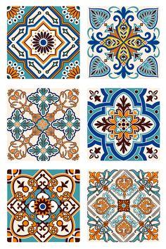 Stencil Patterns, Tile Patterns, Pattern Art, Pattern Design, Print Patterns, Motifs Islamiques, Motif Art Deco, Posca Art, Plakat Design