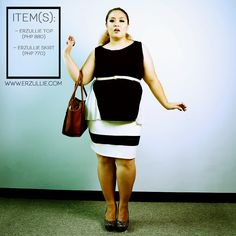 "Erzullie Fierce Plus Size Fashion Philippines: PLUS SIZE STYLE: #OOTD ""COLOR BLOCKING"""