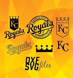9 Kansas City Royals in DXF SVG and PNG files Instant by dxfsvg