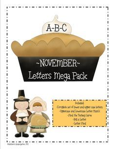 Thanksgiving Letters Unit - Lots of great activities!