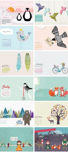 Free desktop calendars #wallpaper #calendar