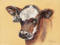 by Ann Hanson Oil ~ x Dairy Cattle, Real Cowboys, Drawing Templates, Bob Ross, Western Art, Horse Art, Drawing Stuff, Drawing Ideas, Painting Inspiration