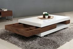 Featuring the unadorned beauty and simplicity of mission style, the McMilian coffee table makes a stunning centre piece yet without overshadowing the decor of your home! Centre Table Living Room, Table Decor Living Room, Living Room Sofa Design, Home Room Design, Home Decor Furniture, Table Furniture, Cool Furniture, Furniture Design, Living Furniture