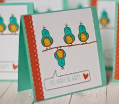 { Conibaers creative desk }: You make me happy #stampinup
