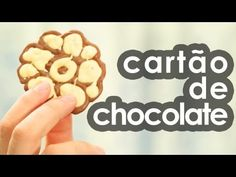 Cartão de chocolate (presente para Dia dos namorados e Páscoa)