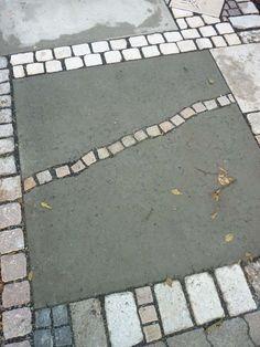 Interesting Fix For Our Broken Concrete Patio Slabs