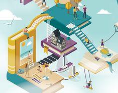 Behance Portfolio, Graphic Design Illustration, Advertising, Creative